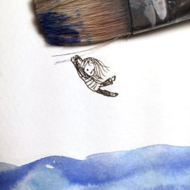 Debbie Ridpath Ohi's drawings make me wanna let go and fly