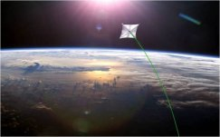 sunjammer solar sail – into the wild blue beyond